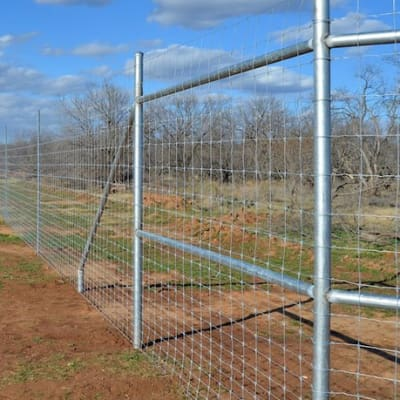 Game fence - 100m/roll x 115cm height image