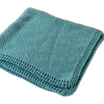 Knitted Blanket Small image