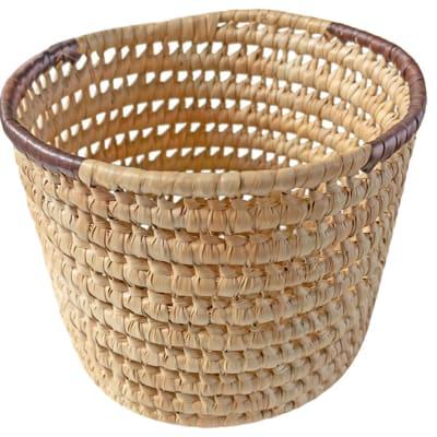 Baskets Siavonga  Kitchen Trash Basket Natural image