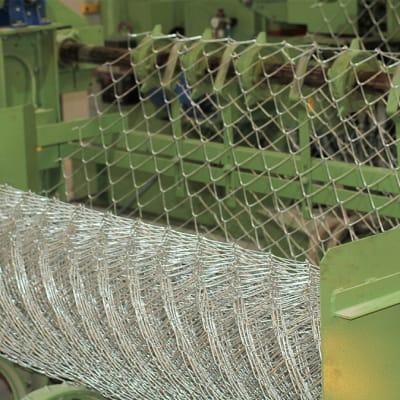 Diamond mesh wire - Mesh size 63 mm, Diameter 2 mm image