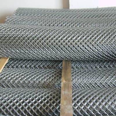 Diamond mesh wire - Mesh size 63 mm, Diameter 2.5 mm image