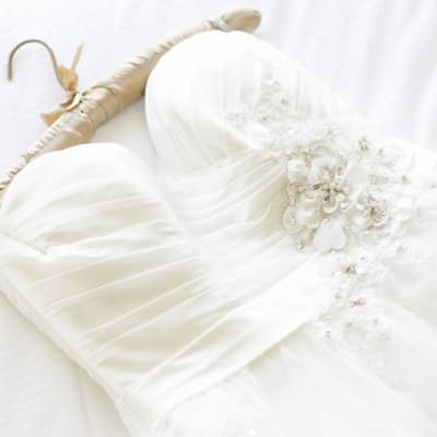 Wedding dress and formal wear image