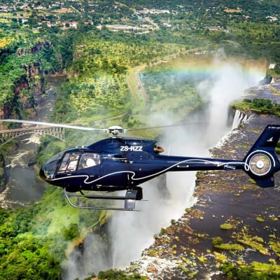 Private helicopter charter image
