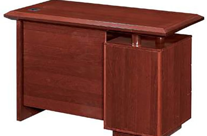 1.2 Metre Solid Wood Managerial Desk - Mahogony