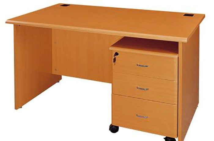 1.4 Metre Desks with Mobile Drawers