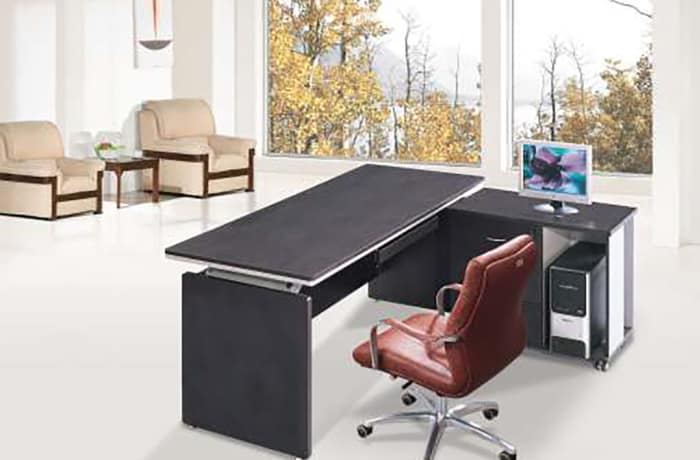 1.6 Metre Executive Desk with side attachment