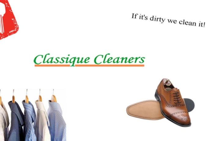 Professional dry cleaning and laundry services, shoe repairs and key cutting services image