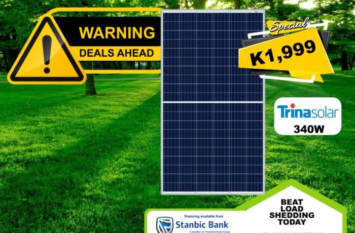 Special offer on Trinasolar 350W panel image