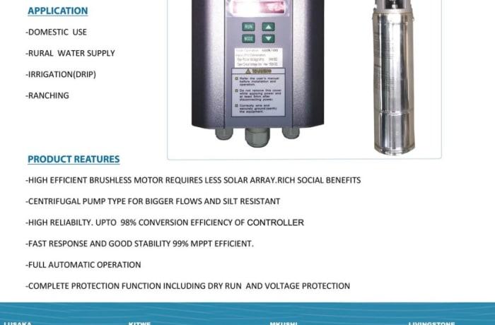 Saro Solar Centrifuhal pump image