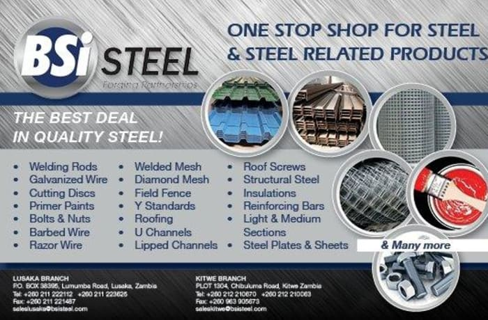 One stop shop for steel and related products image