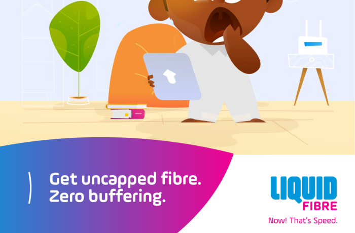 Get uncapped fibre. Zero buffering image