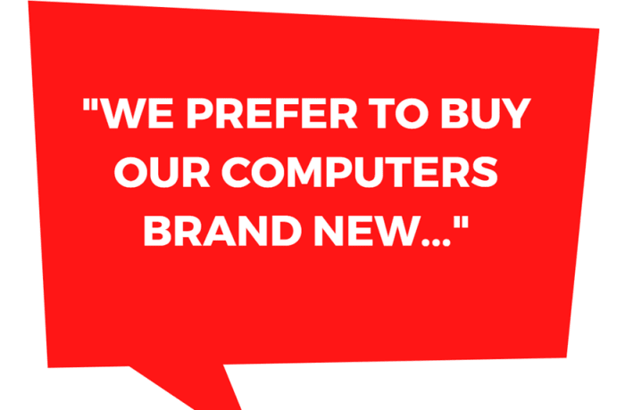Computer equipment hire on short term or long term basis  image