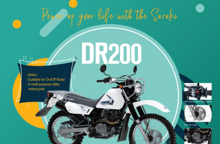 Suzuki DR200 Motorcycles for sale image