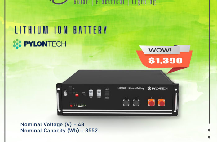 Lithium Ion Batteries image