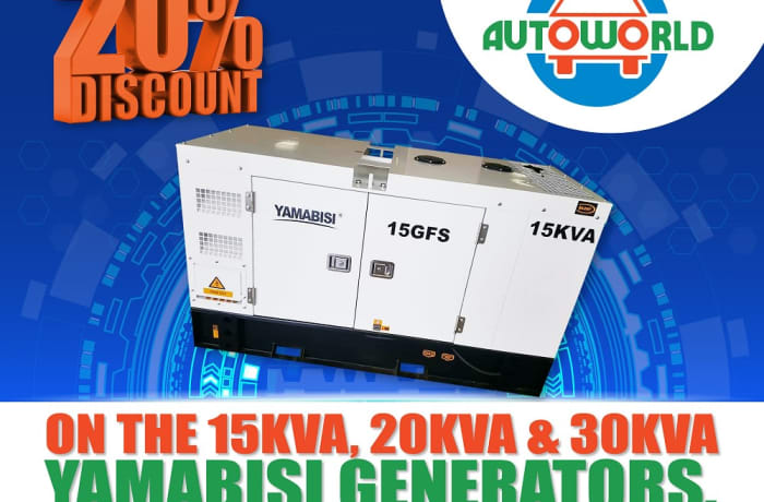 Massive 20% discount on Yamabisi generators! image