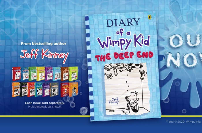 Back in stock - Diary of a Wimpy Kid book! image