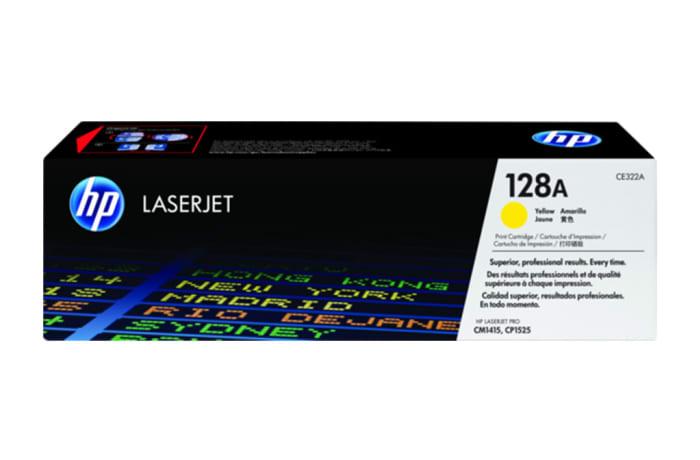 Hp 128a Ce322a Yellow Toner Cartridge