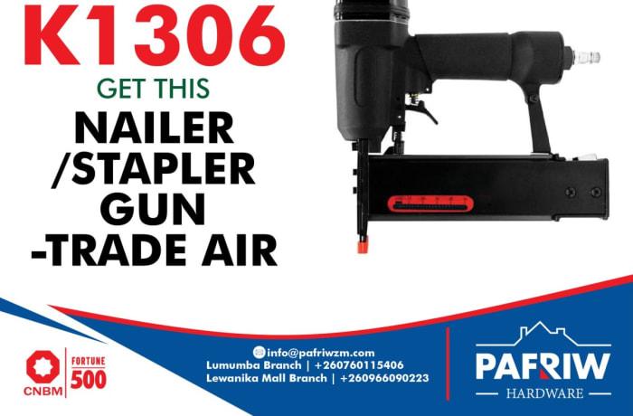 Nailer/ stapler gun - Trade air at K1306 only image