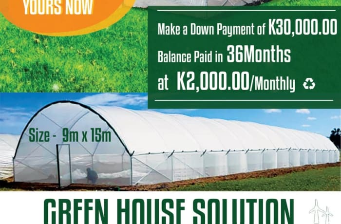 Green house special offer! image