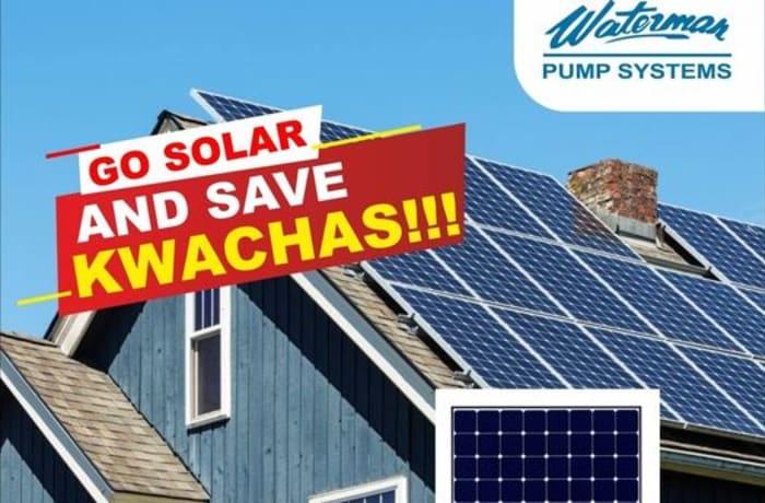 Go solar and save kwacha! image