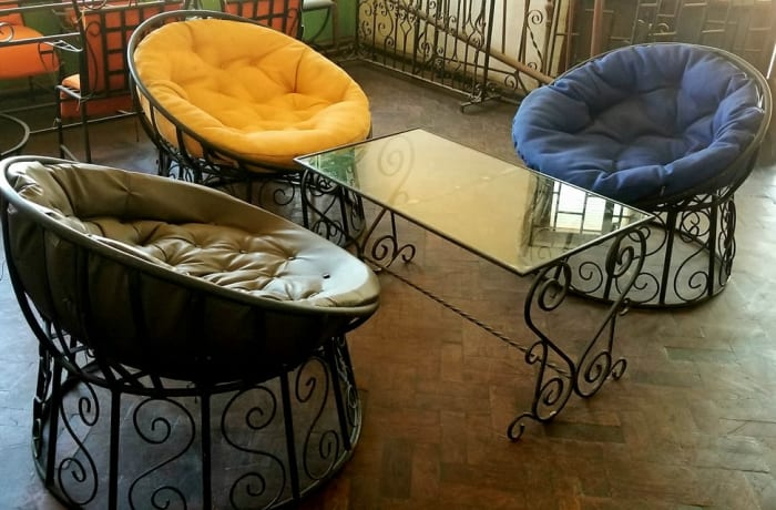 Indoor and outdoor wrought iron furniture! image