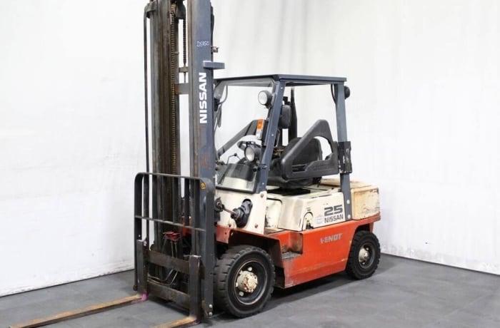 Forklift hire image