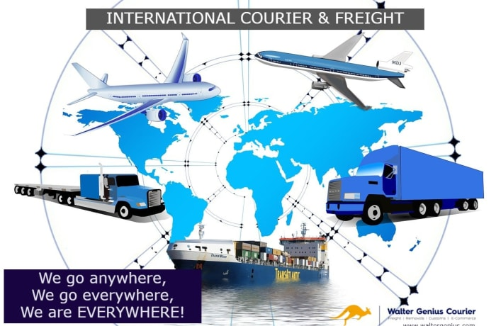 International courier and freight services image