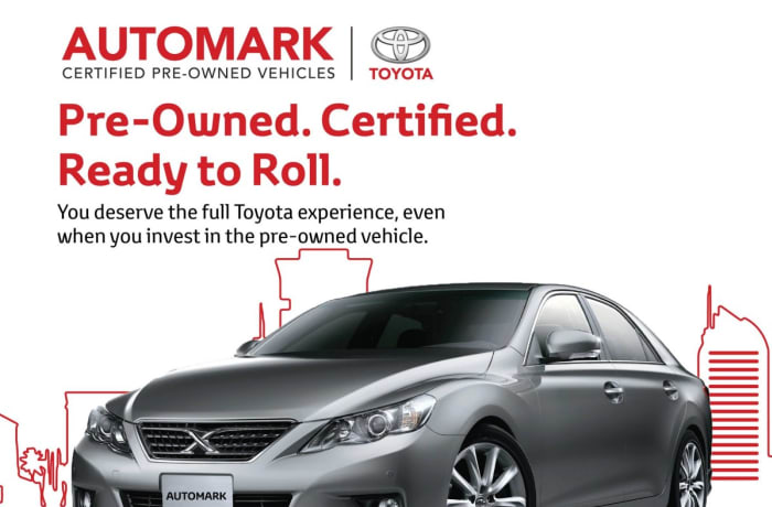 Did you know that Automark is a certified pre-owned brand for Toyota Zambia? image