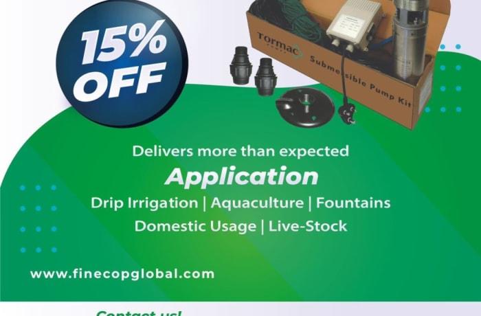 Get 15% off Submersible pump kits image