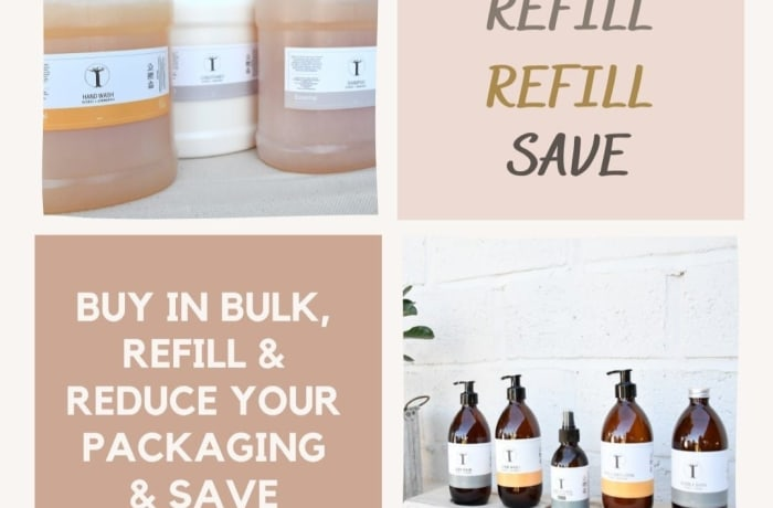 Buy in bulk, refill and save! image