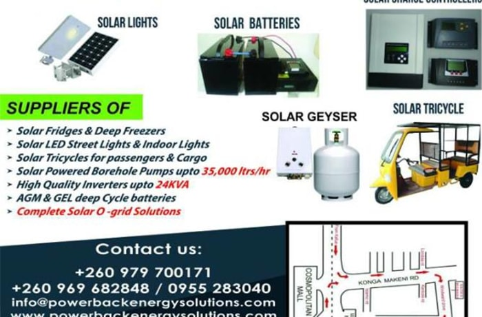 Do not let load shedding inconvenience you at home or slow down your business image