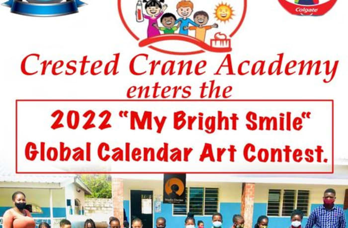 """Crested Crane Academy enters the 2022 """"My Bright Smile Global Calendar Art Contest."""" image"""