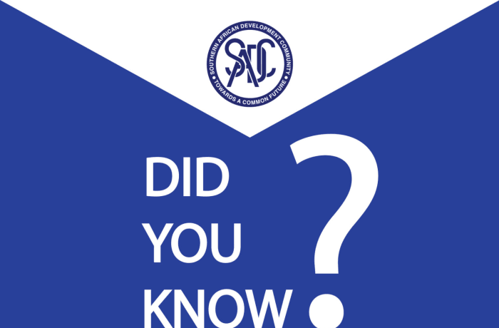 Did you know KGRTC has been a subsidiary organization of the The Southern African Development Community (SADC) from time in memorial? image