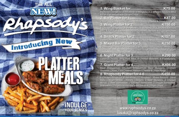 Introducing platter meals image