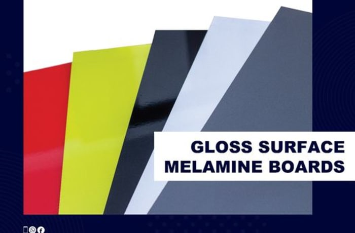 Glossy surfaced melamine boards! image