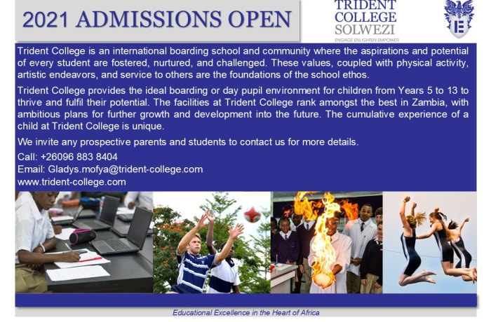2021 Admissions open image