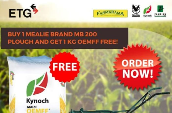 Buy 1 Mealie Brand MB 200 Plough and get 1 Kg OEMFF free image