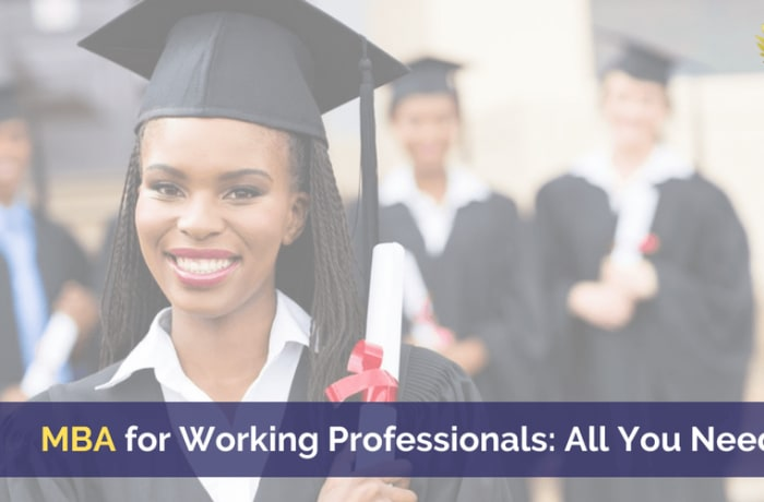 MBA for working professionals - all you need to know image