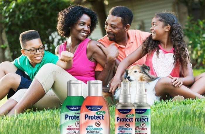 To fight mosquitoes, Day by Day Protect Anti-Mosquito protects the whole family image