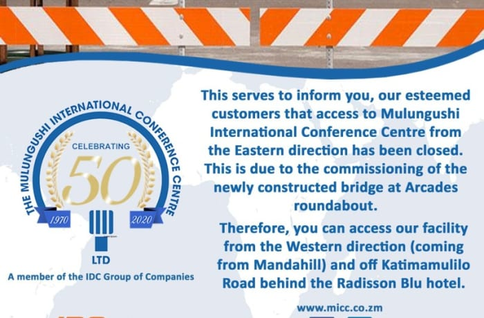 Road closure and detour! image