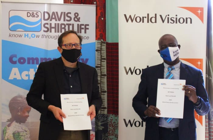 Davis & Shirtliff Zambia and World Vision Zambia sign a Memorandum of Understanding (MoU) image