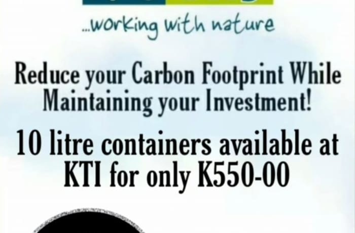 KTI has a 10 % discount on our Blue Sky Ad Blue  image
