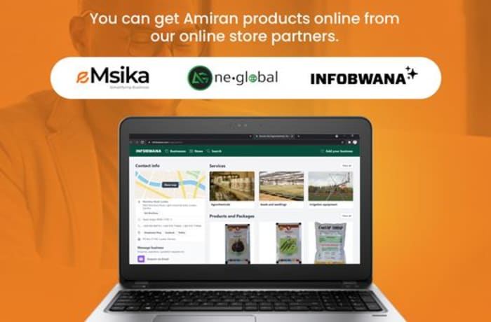 You can now buy Amiran products online! image