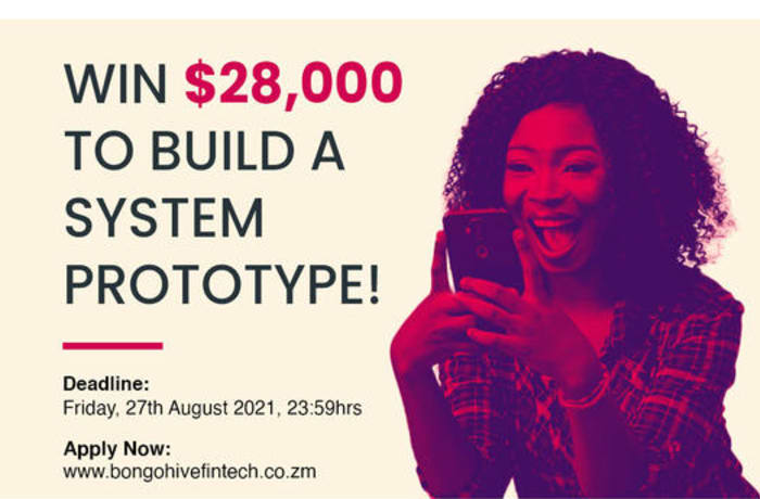Win $28, 000 to build a system proto type! image