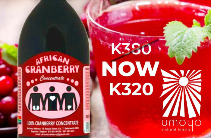 100% Cranberry Concentrate now at K320 image