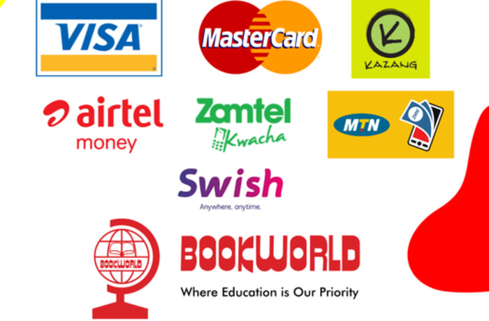 Bookworld stores nationwide accept all major payment methods! image