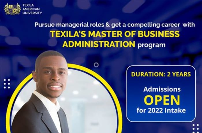 Pursue managerial roles and get a career with Texila Master of Business Administration program  image