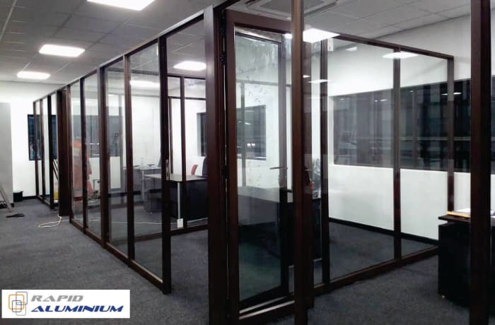 For all your office partitions needs look no further than Rapid Aluminum Zambia image
