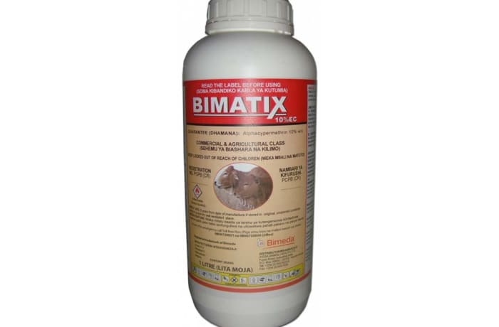 Bimatix for control of ticks on cattle, sheep and goats image