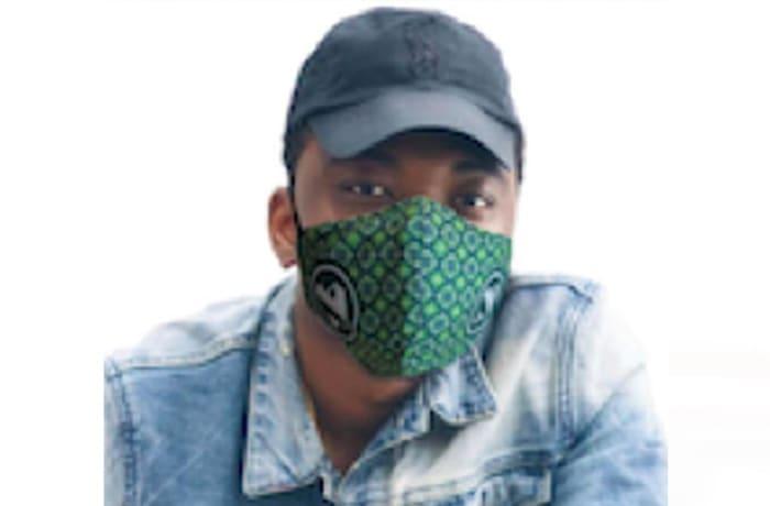 3 Ply washable sublimated Beak Face Mask